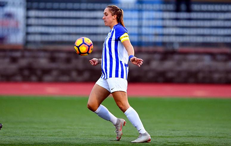 Shauny Alterisio uws united womens soccer honors