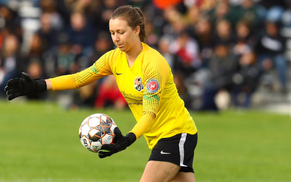 Kelly O'Brien lancaster inferno professional goalkeeper soccer player