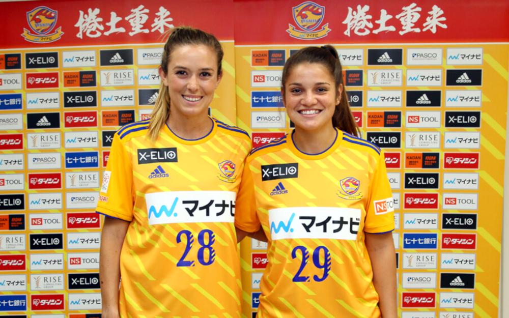 Jordan Marada Millene Cabral Mynavi Vegalta Sendai Ladies