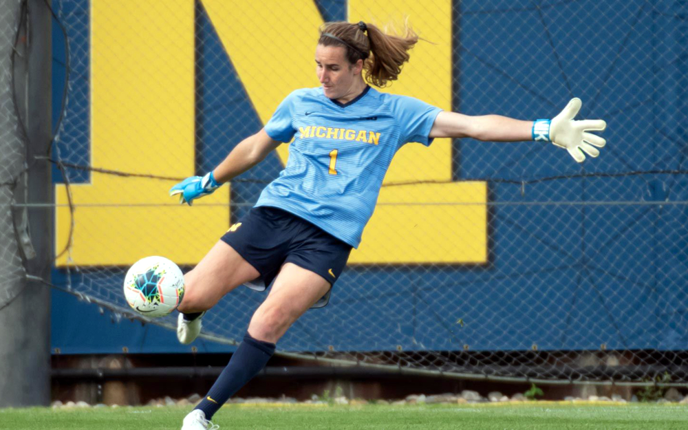 Hillary Beall Big Ten Conference Goalkeeper of the Week