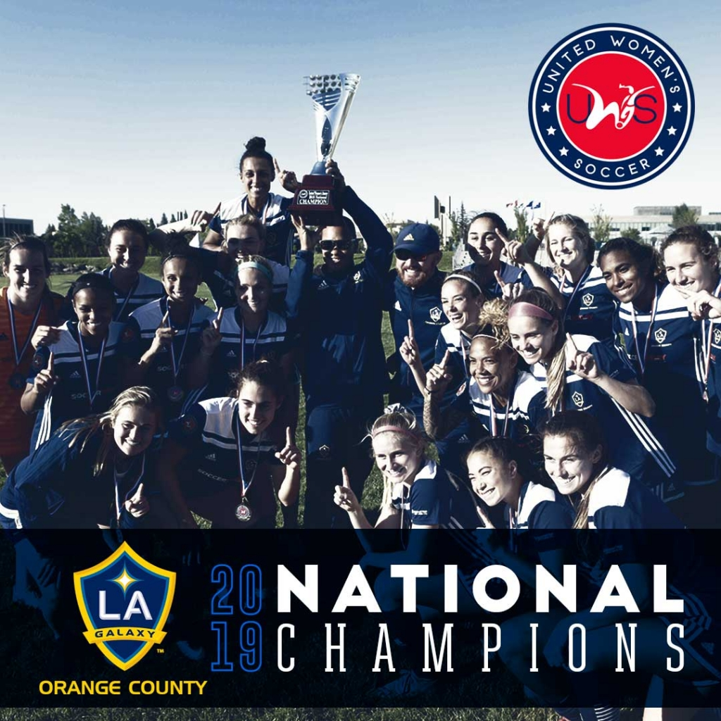 UWS National Champions United Womens Soccer