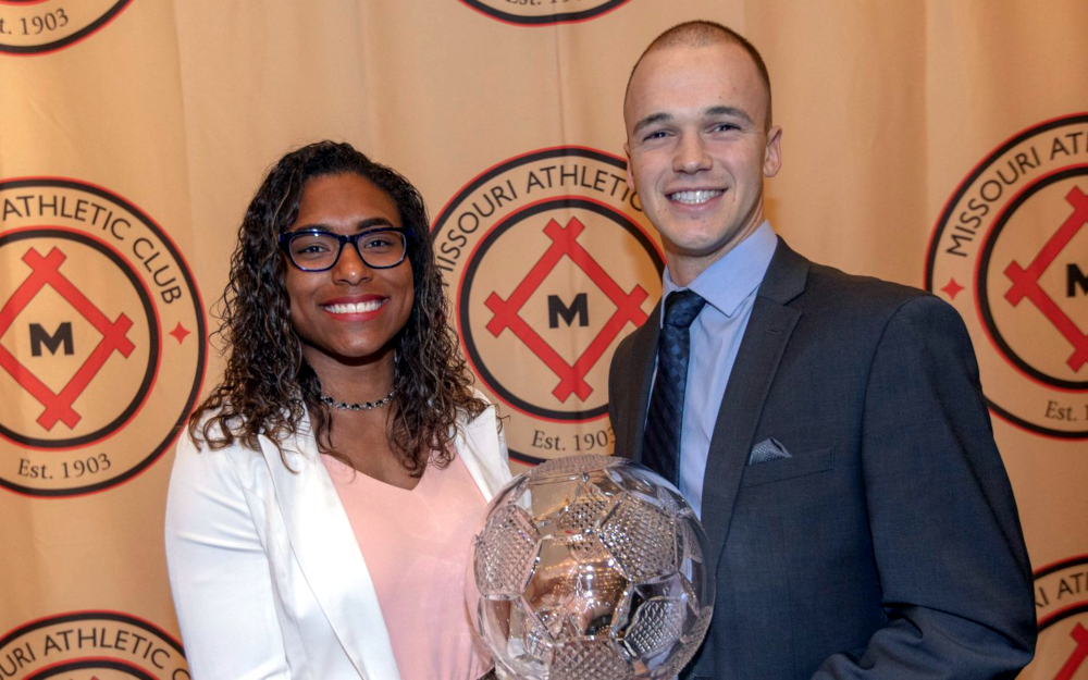Catarina Macario wins 2019 MAC Hermann Trophy