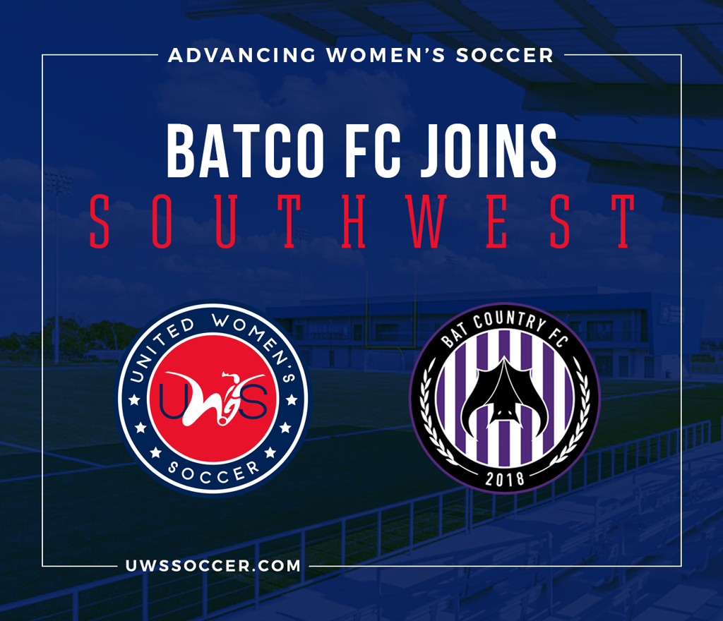bat country fc batco fc southwest conference austin texas uws united womens soccer