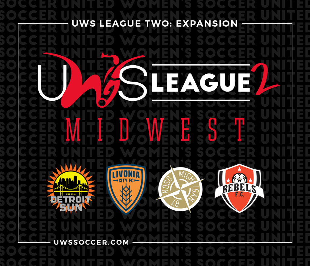 uws league two united womens soccer pro am league 2 midwest conference