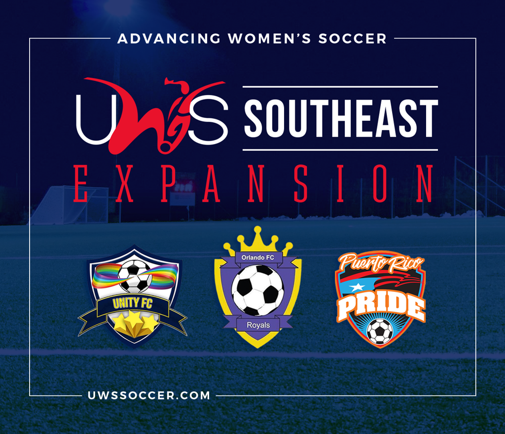 uws southeast expansion united fc orlando fc royals puerto rico pride florida womens team