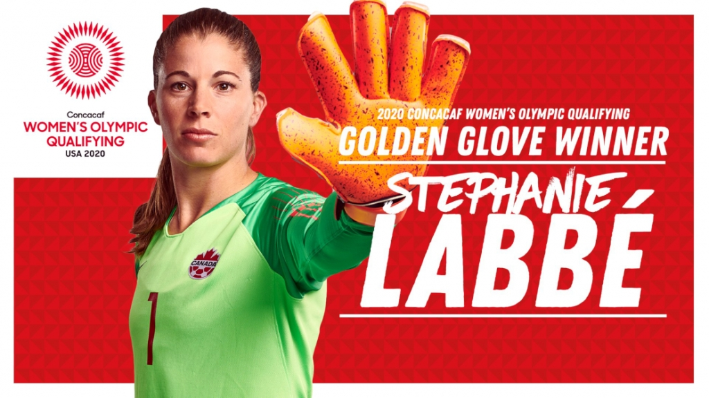 2020 concacaf womens golden glove winner stephanie labbe uws calgary