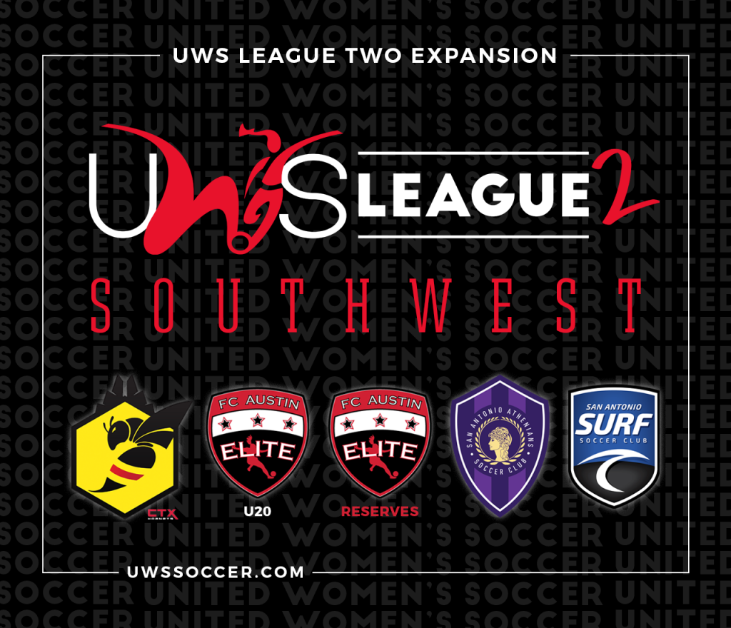 UWS United Women's Soccer League Two Southwest