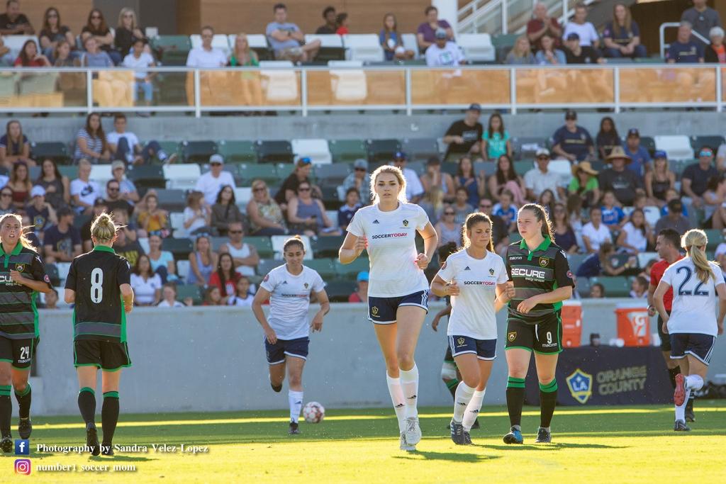 UWS United Women's Soccer Taylor Kornieck Colorado LA Galaxy OC Orlando Pride NWSL