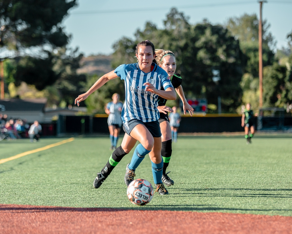 UWS United Women's Soccer Chloe Castañeda Santa Clarita Blue Heat Houston Dash UCLA NWSL