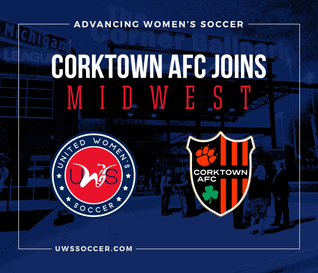 UWS United Women's Soccer national pro-am league Corktown AFC Detroit women's soccer team UWS League Two