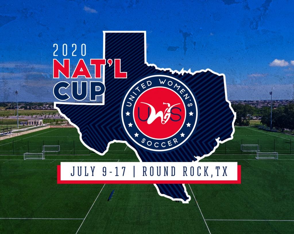 United Women's Soccer UWS National Cup Round Rock Texas FC Austin Santa Clarita Blue Heat Lancaster Inferno