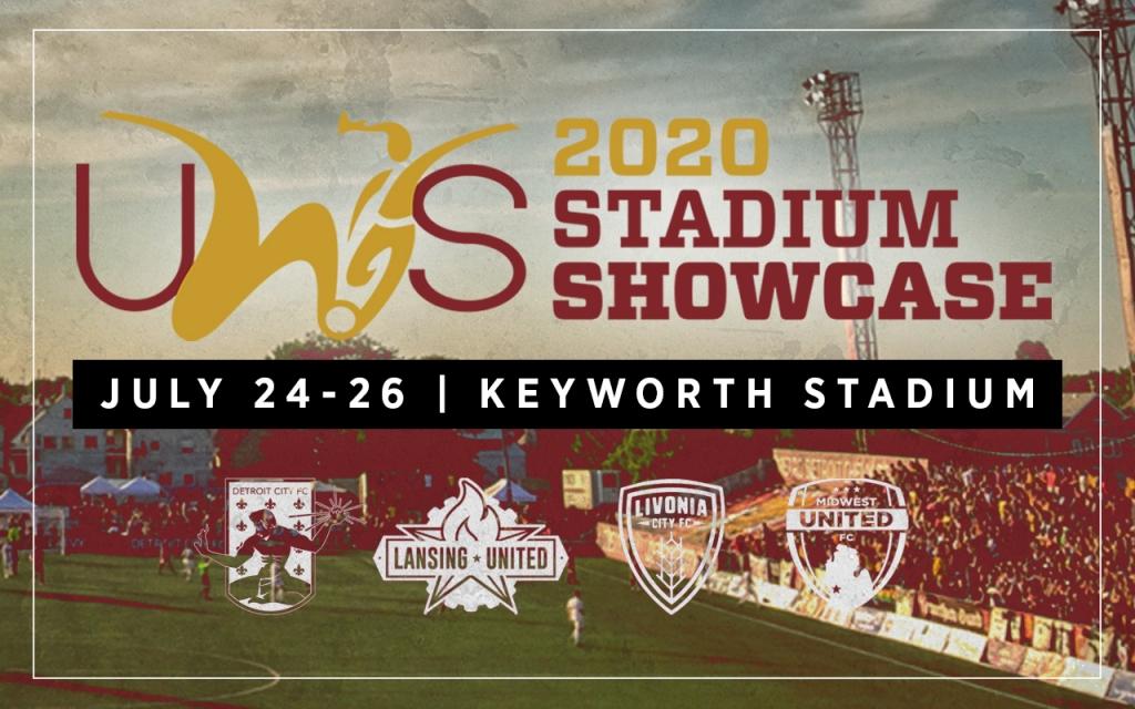 Detroit City FC Women DCFC Michigan Keyworth Stadium United Women's Soccer UWS tournament showcase keyworth
