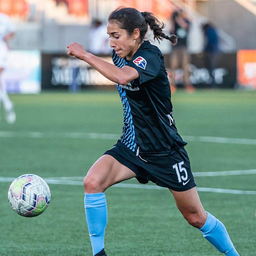 United Women's Soccer UWS Professional Contracts alumnae Sabrina Flores Sky Blue FC NWSL