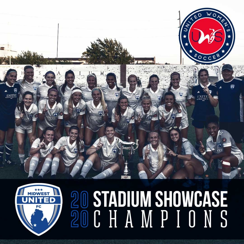 UWS 2020 Midwest Stadium Showcase Champions United Womens Soccer