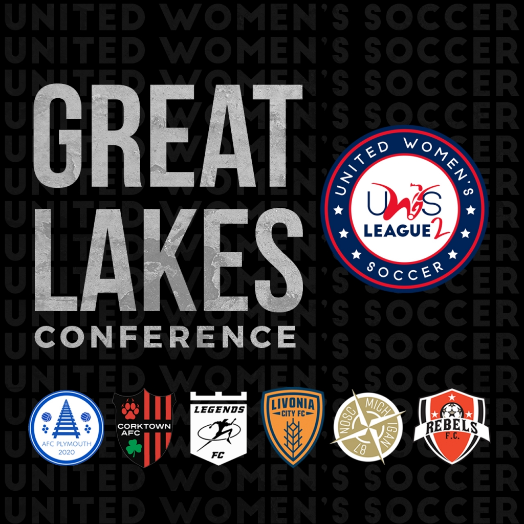 United Women's Soccer UWS League Two UWS2 Michigan AFC Plymouth Corktown AFC Legends FC Livonia City FC North Oakland SC Rebels FC