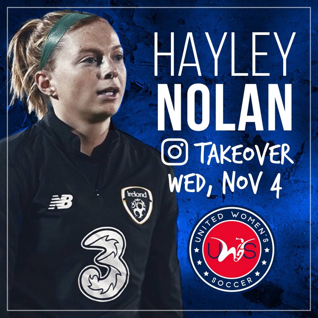 United Women's Soccer UWS Connecticut CT Fusion Hayley Nolan