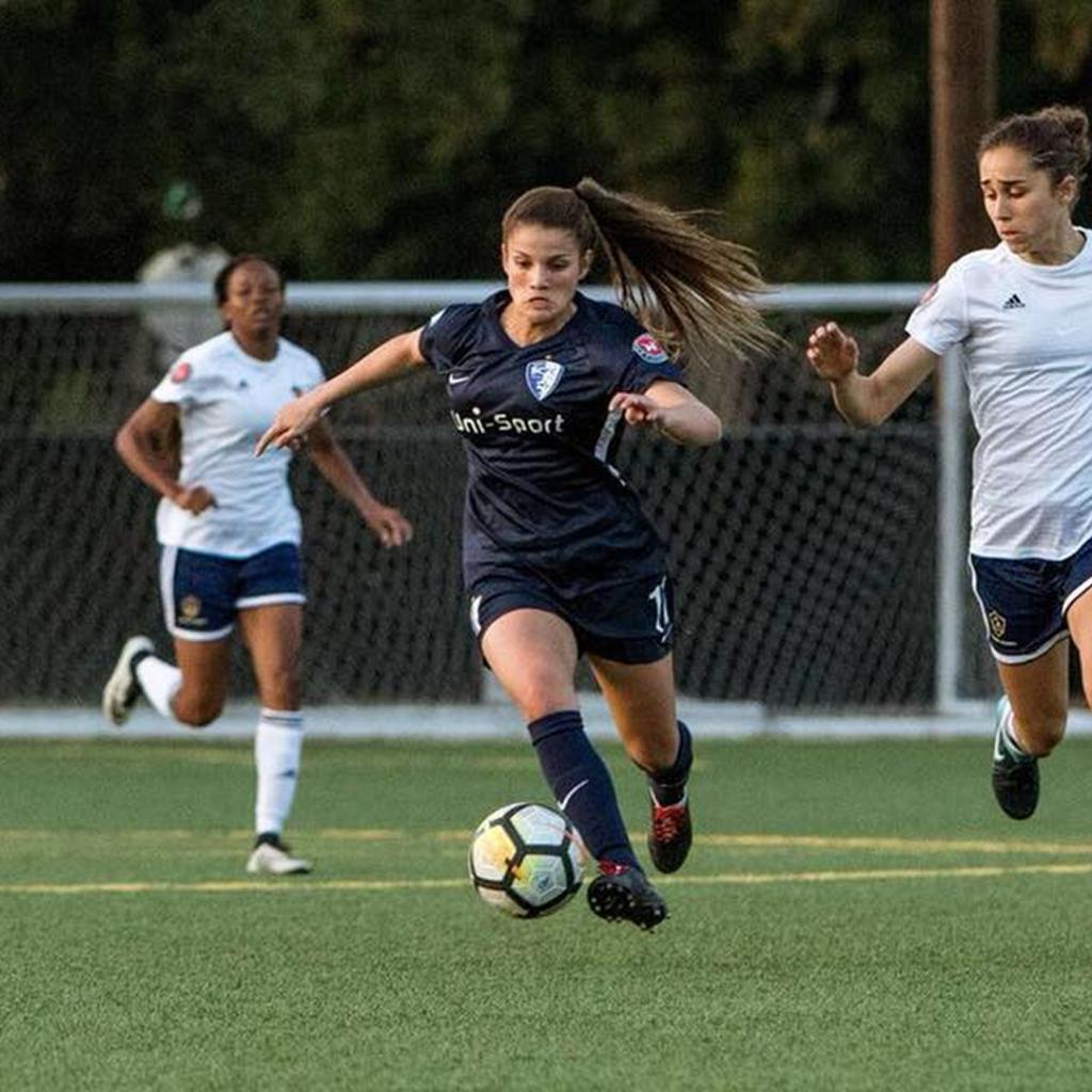 United Women's Soccer UWS Santa Clarita Blue Heat SCBH Millene Cabral