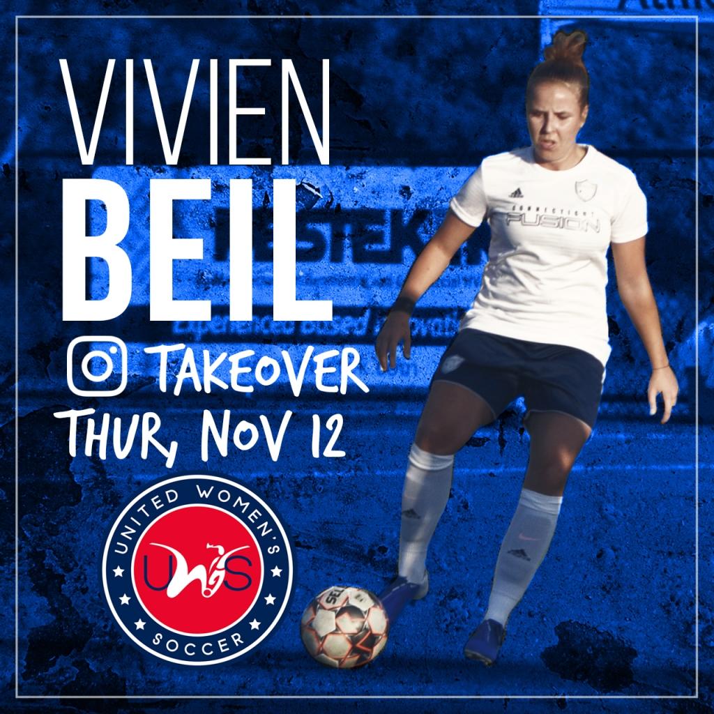 United Women's Soccer UWS national pro-am league Vivien Beil Connecticut CT Fusion