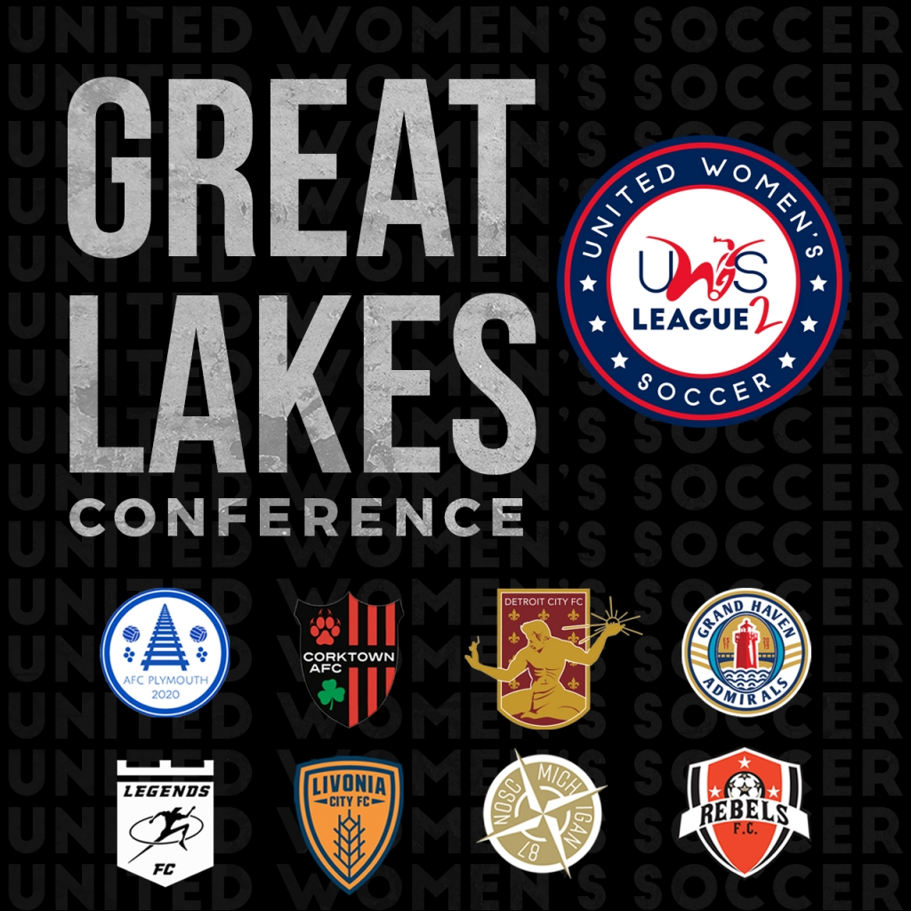 United Women's Soccer UWS League Two Great Lakes Conference Michigan Detroit City FC UWS2