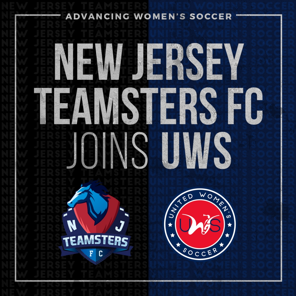 United Women's Soccer UWS national pro-am league UWS2 League Two New Jersey Teamsters FC NJ Teamsterz NISA