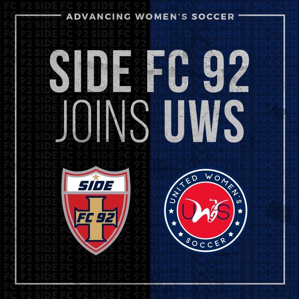 United Women's Soccer UWS national pro-am league Oklahoma UWS2 OK Side FC 92 WSA Tulsa