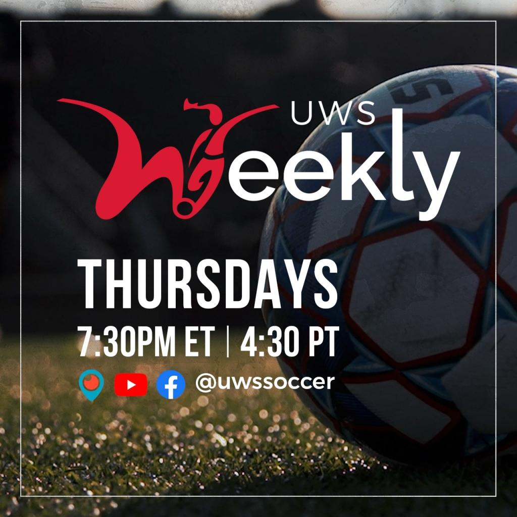 United Women's Soccer UWS National Pro-am League UWS Weekly Live Show Joe Ferrara Stephanie Cleaves