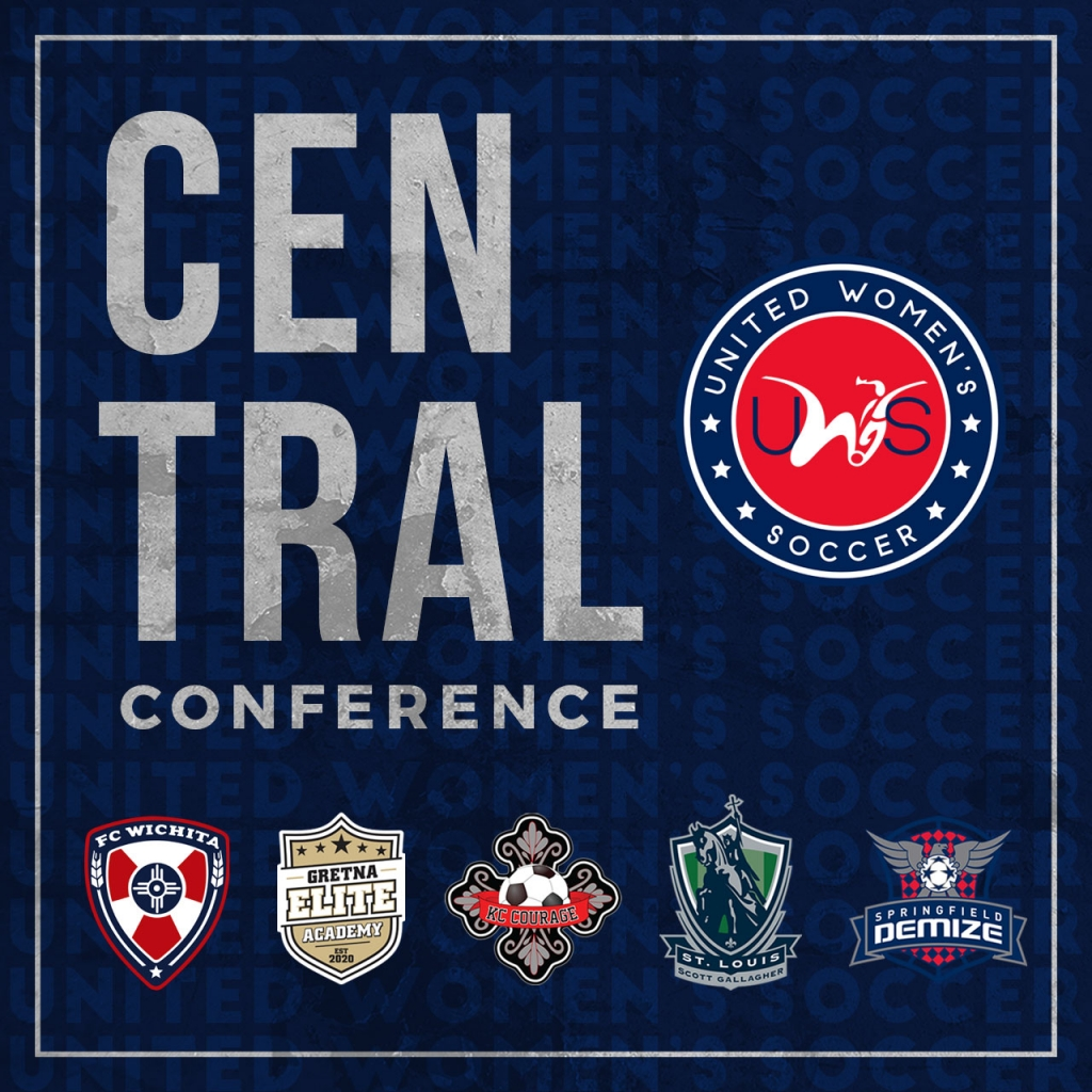 United Women's Soccer UWS national pro-am league central conference fc wichita gretna elite soccer academy kc courage springfield demize st. louis scott gallagher slsg