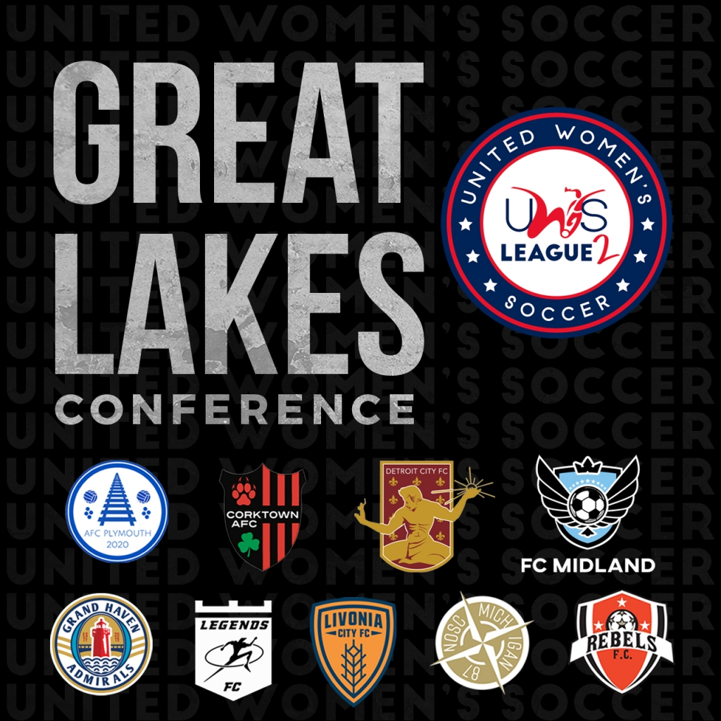 United Women's Soccer UWS League Two national pro-am league FC Midland Detroit City FC Michigan
