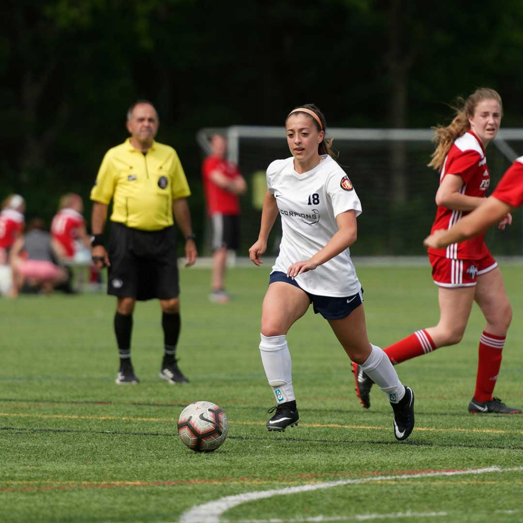United Women's Soccer UWS national pro-am league Scorpions Soccer Club Massachusetts MA Sam Mewis