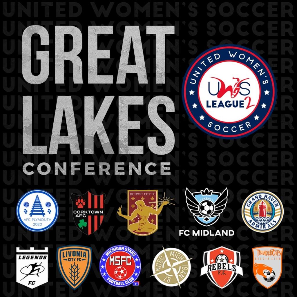 United Women's Soccer UWS League Two national pro-am league FC Midland Detroit City FC Michigan