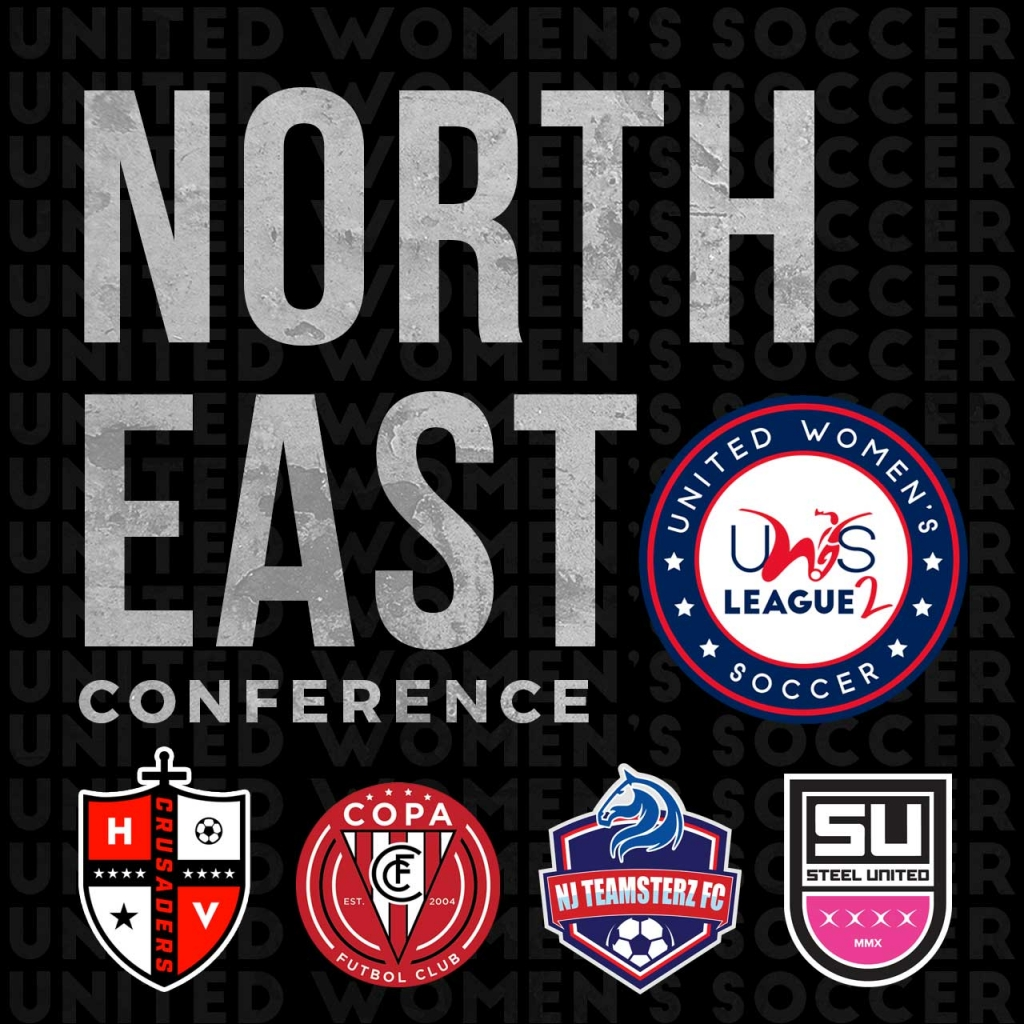 UWS League Two UWS2 New Jersey Copa FC NJ Teamsterz Steel United NJ Hudson Valley Crusaders