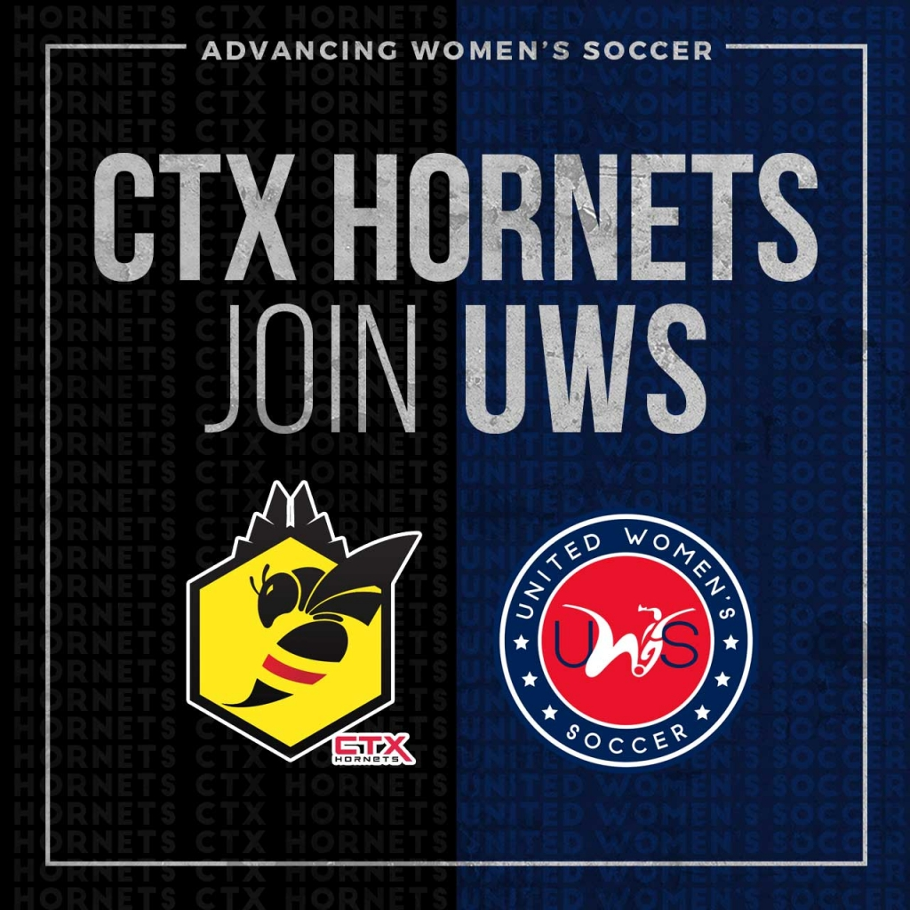 United Women's Soccer UWS national pro-am league Southwest Conference CTX Hornets Texas FC