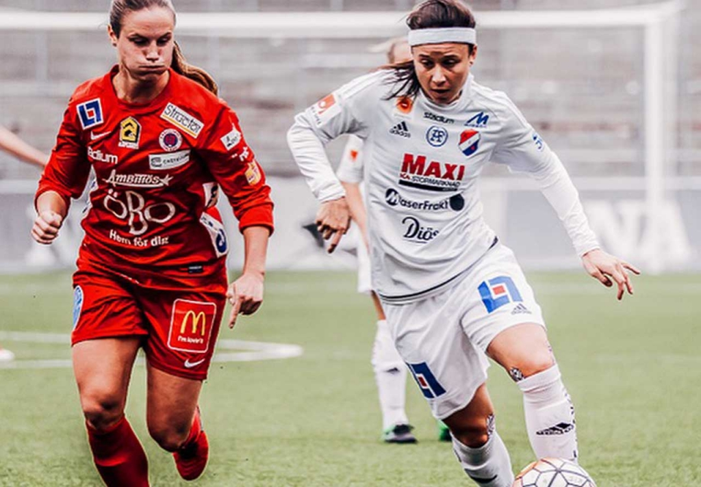 United Women's Soccer UWS national pro-am league partners with Duktig Brand Tiffany Weimer