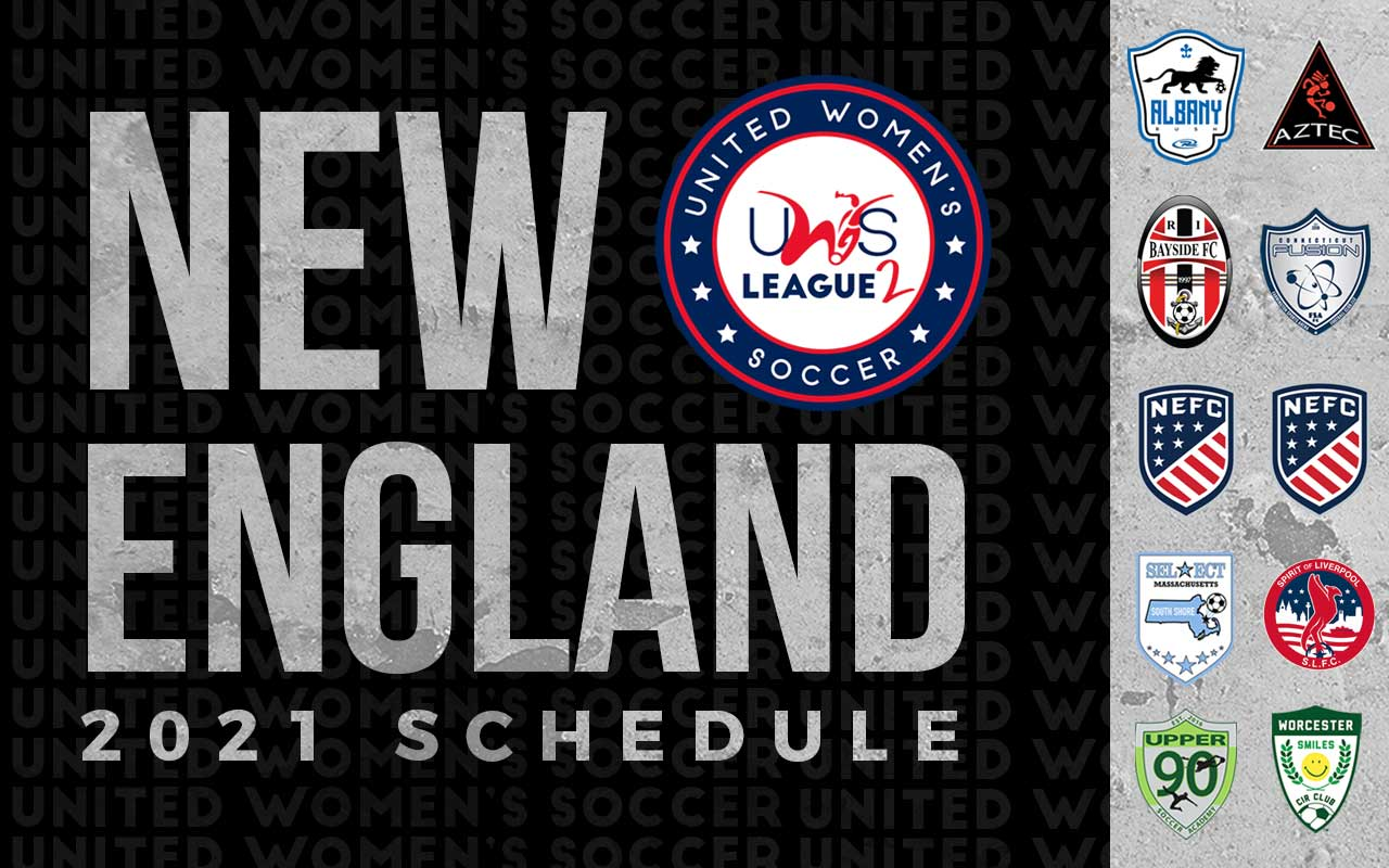 2021 UWS2 New England Conference Schedule