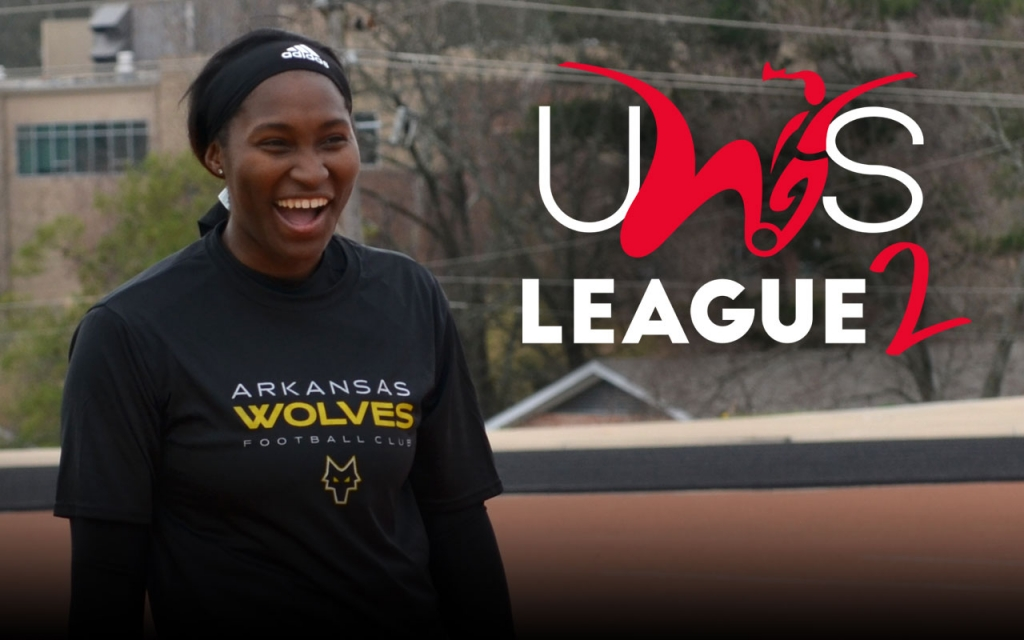 United Women's Soccer UWS national pro-am league UWS League Two UWS2 Arkansas Wolves Midwest Panthers