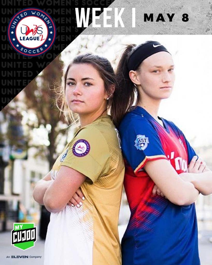 United Women's Soccer UWS national pro-am league UWS League Two UWS2 Grand Haven Admirals Corktown AFC II