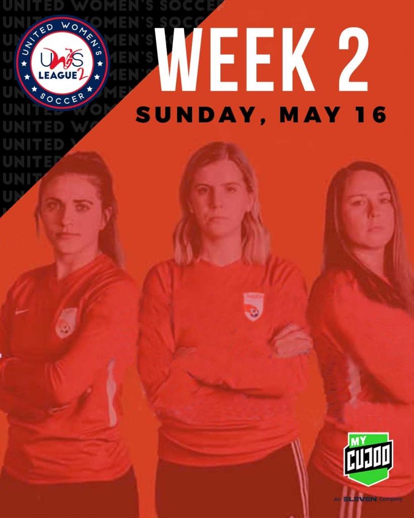 United Women's Soccer UWS League Two UWS2 League