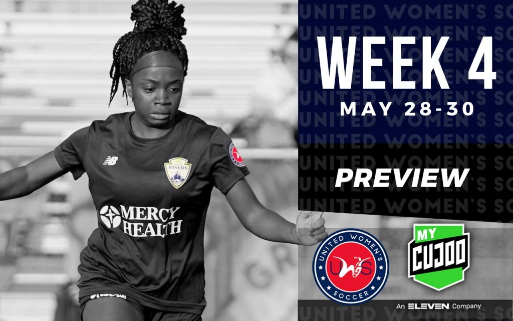 United Women's Soccer UWS national pro-am league Week 4 preview Muskegon Risers