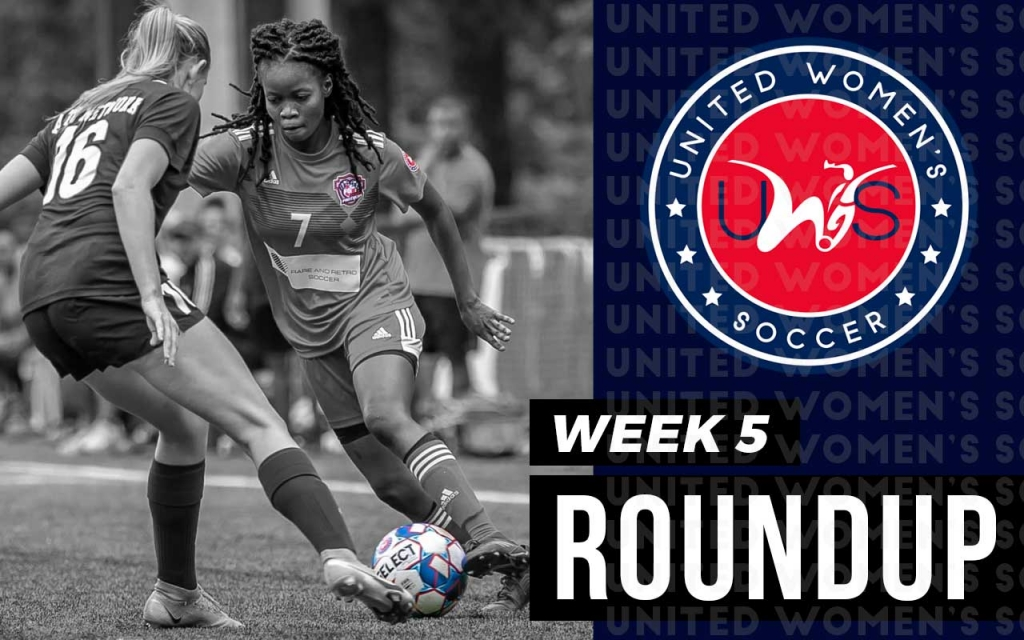 United Women's Soccer UWS national pro-am league Atlanta Panthers Pensacola FC Roundup Game Recap Week 5