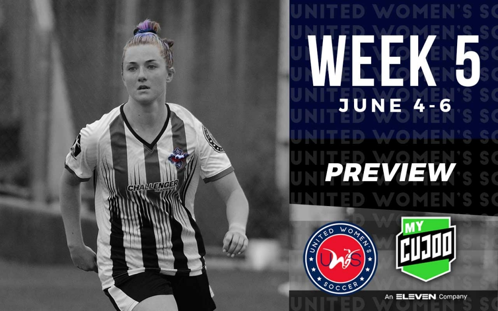 United Women's Soccer UWS national pro-am league week 5 preview KC Courage