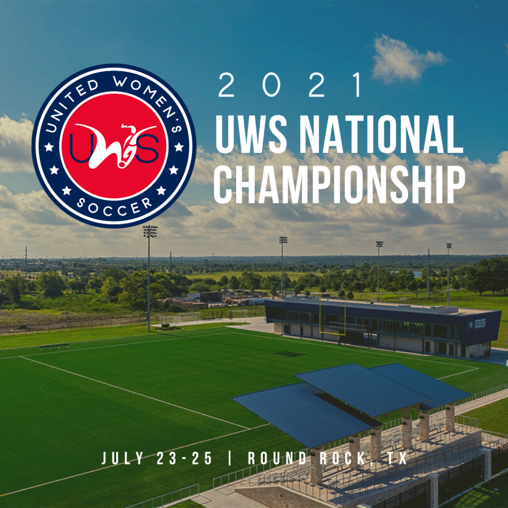 2021 UWS National Championship United Women's Soccer national pro-am league Round Rock Texas