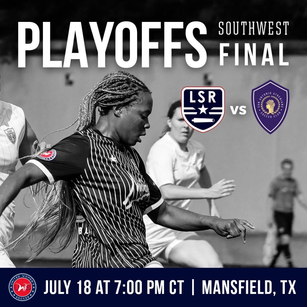 United Women's Soccer UWS national pro-am league Lone Star Republic LSR San Antonio Athenians