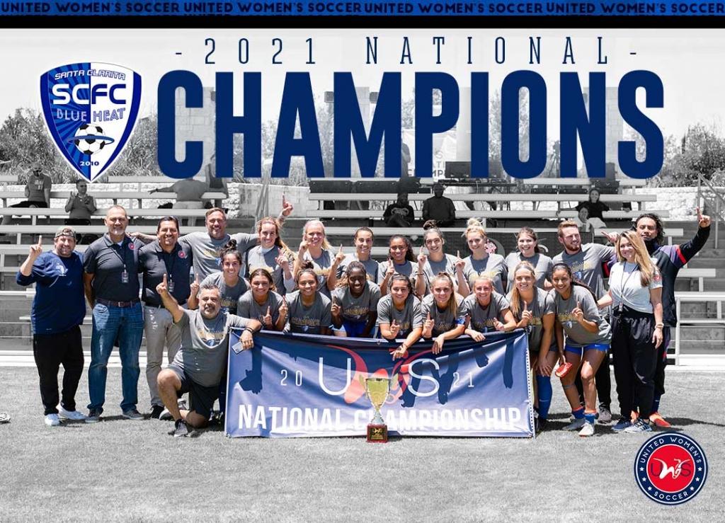 United Women's Soccer UWS national pro-am league 2021 UWS National Championship Round Rock Texas Santa Clarita Blue Heat San Antonio Athenians Connecticut Fusion Midwest United FC Austin Elite TX