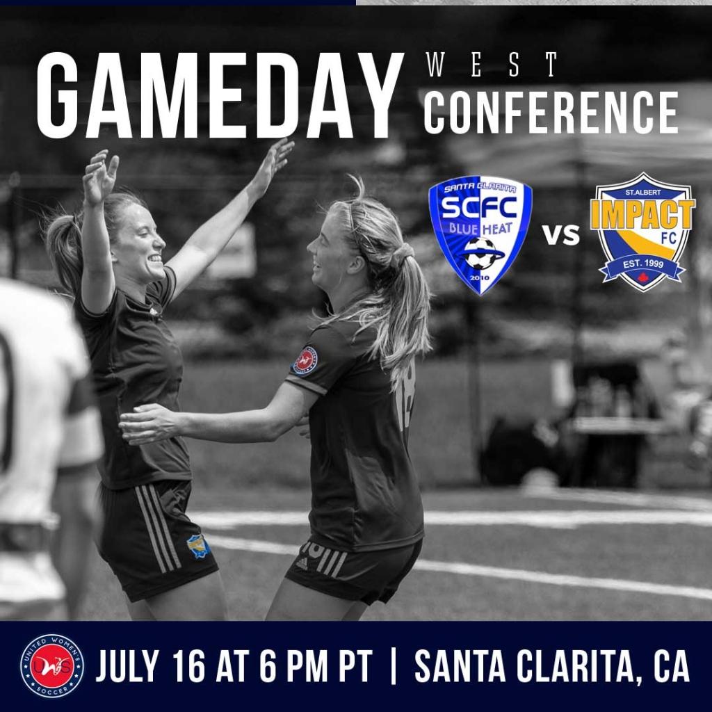United Women's Soccer UWS national pro-am league Santa Clarita Blue Heat Impact FC Canada SCBH