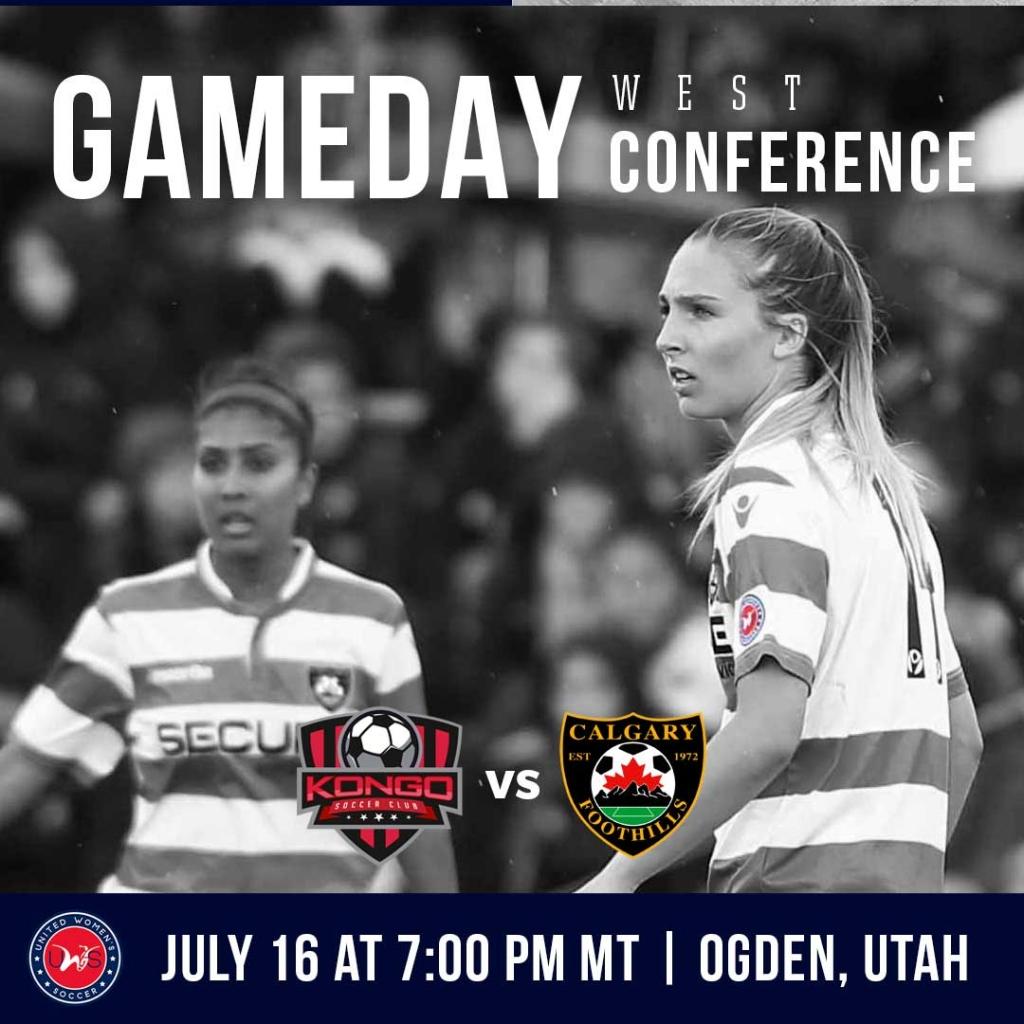 United Women's Soccer UWS national pro-am league Kongo SC Calgary Foothills WFC Canada