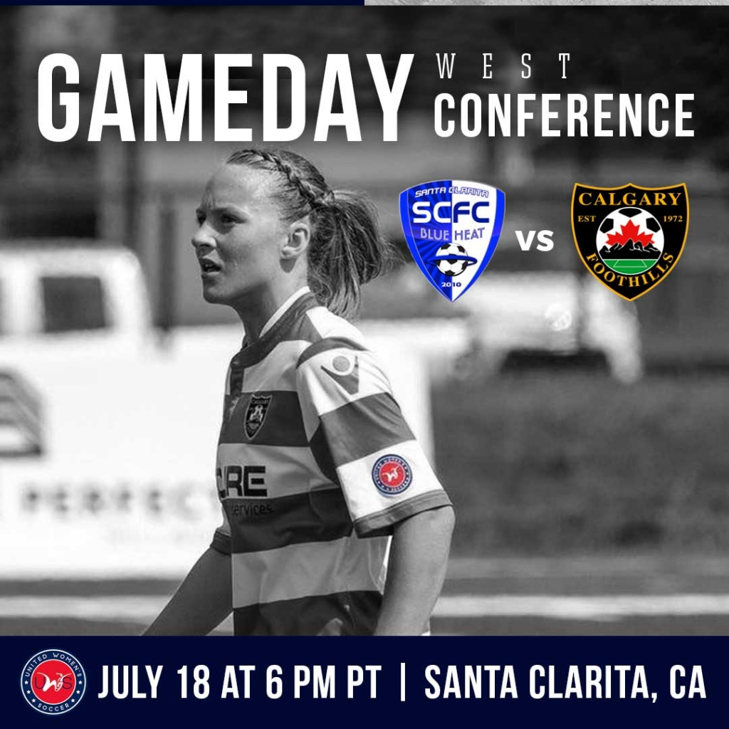 United Women's Soccer UWS national pro-am league Calgary Foothills WFC Santa Clarita Blue Heat SCBH