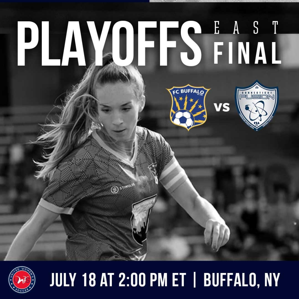 United Women's Soccer UWS national pro-am league 2021 UWS Playoffs FC Buffalo CT Fusion