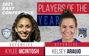 2021 UWS All-East Conference Awards