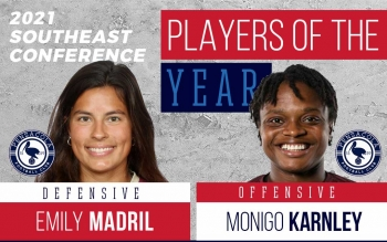 2021 UWS All-Southeast Conference Awards