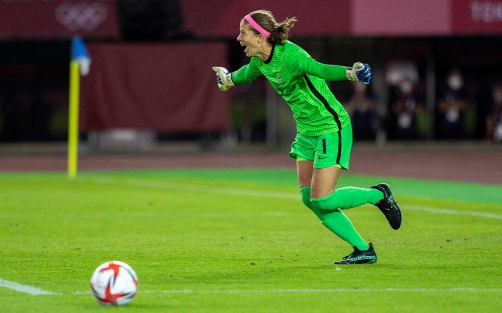 United Women's Soccer UWS national pro-am league Stephanie Labbé Canada WNT Tokyo Olympics